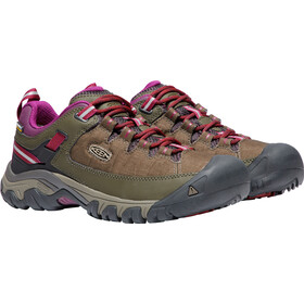 Keen Targhee EXP WP Shoes Women Canteen/Grape Wine